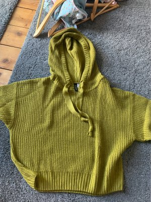 H&M Divided Knitted Sweater olive green