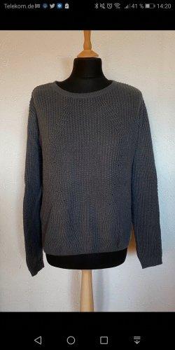 Colors of the world Pullover a maglia grossa grigio-grigio scuro