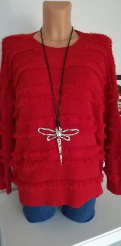 Made in Italy Jersey de punto rojo