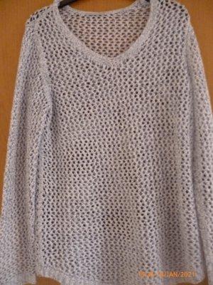 C&A Długi sweter Wielokolorowy Tkanina z mieszanych włókien