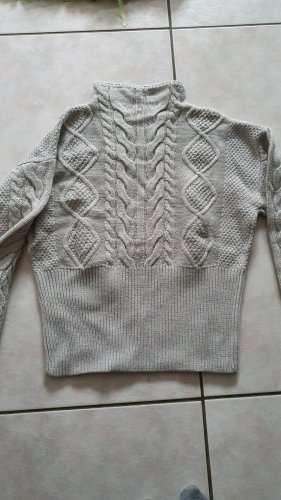 Guess Coarse Knitted Sweater light grey