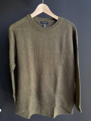 New Look Maglione lavorato a maglia grigio-verde-cachi