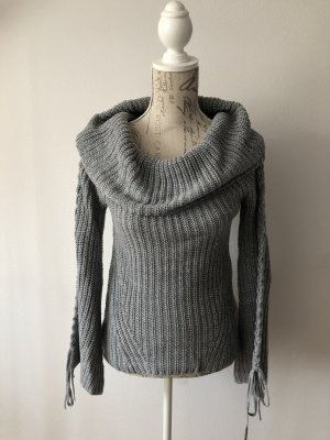 American Rag CIE Pull tricoté gris-gris clair