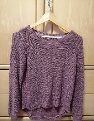 Be only Knitted Sweater grey lilac