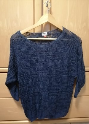 Be only Knitted Sweater dark blue
