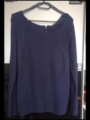 C&A Sweter z dzianiny niebieski