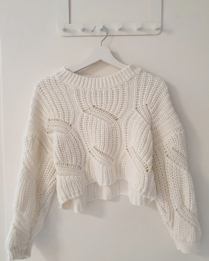Tally Weijl Coarse Knitted Sweater white