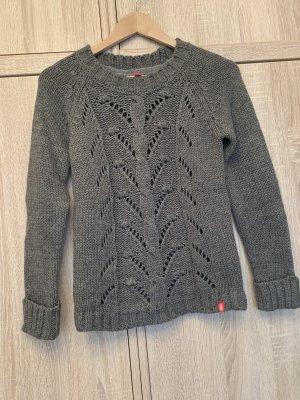 edc by Esprit Pullover a maglia grossa grigio scuro