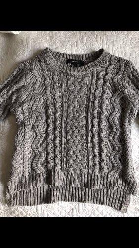 Forever 21 Warkoczowy sweter Wielokolorowy
