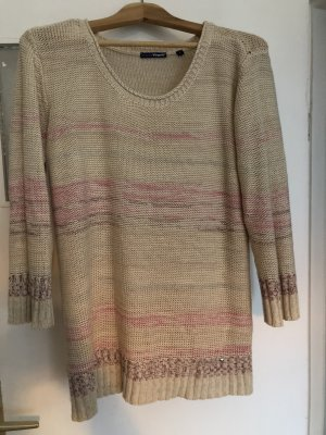 Charles Vögele Knitted Sweater cream-pink