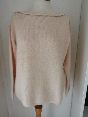 Sezane Pull tricoté rosé