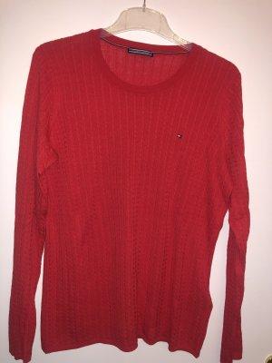 Tommy Hilfiger Gebreide trui rood