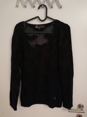 Mogul Crochet Sweater black