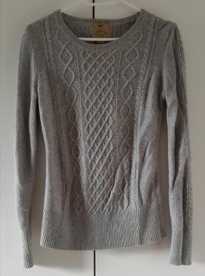 Aphorism Knitted Sweater light grey