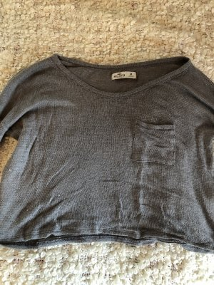 Hollister Knitted Sweater grey