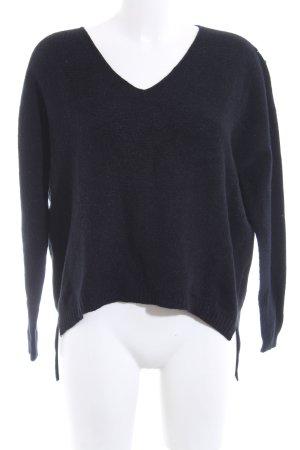 Alpini Knitwear Strickpullover blau Casual-Look
