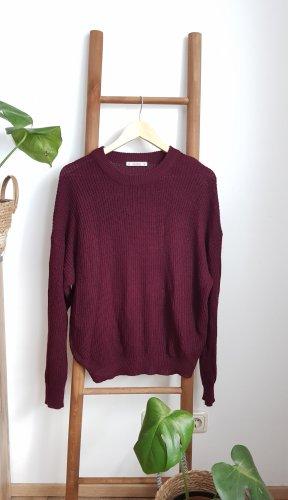 Pull & Bear Pullover a maglia grossa multicolore