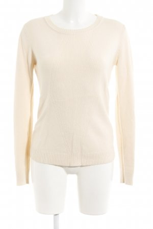 Strickpullover creme Casual-Look