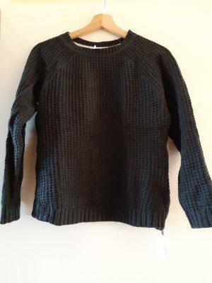 H&M Sweter z dzianiny szary