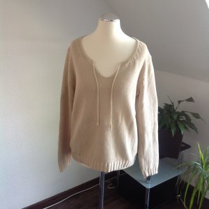 Boysen's Knitted Sweater pale yellow