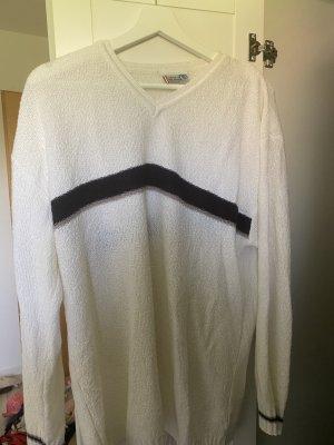 Colours of the World Fine Knit Jumper white-black