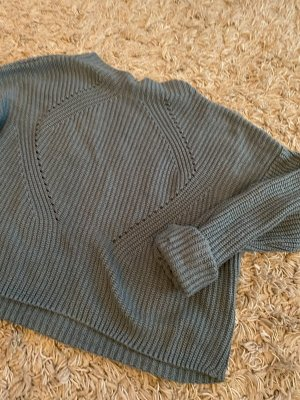 Athmosphere Pullover a maglia grossa blu cadetto