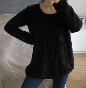 Athmosphere Coarse Knitted Sweater black