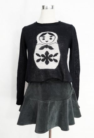 Strickpullover Gr. S Pullover Sweater Babuschka