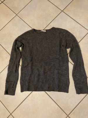 Pieces Maglione lavorato a maglia grigio scuro-antracite