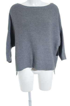 Strickpullover grau Casual-Look