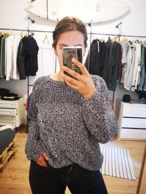 H&M Pullover a maglia grossa grigio-grigio scuro