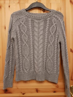 Strickpullover, grau, ONLY