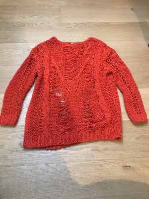 Strickpullover H&M Trend 38 rot