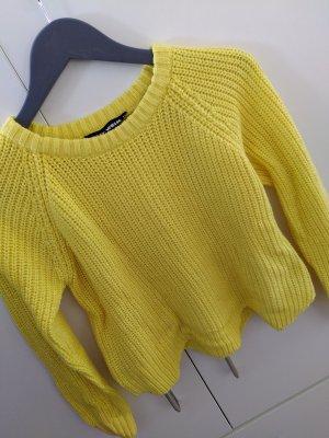 Tally Weijl Coarse Knitted Sweater yellow