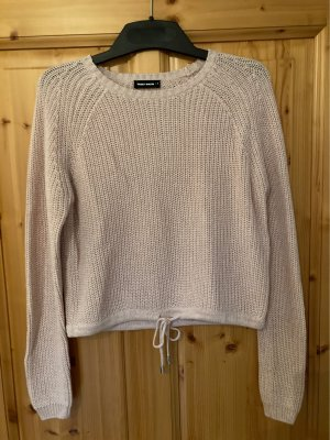 Strickpullover in hellrosa