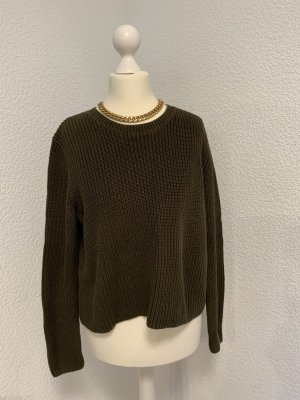 Mango Coarse Knitted Sweater multicolored