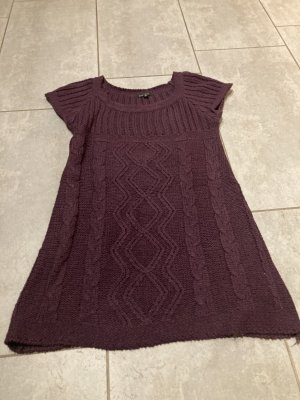 Amisu Knitted Sweater brown violet