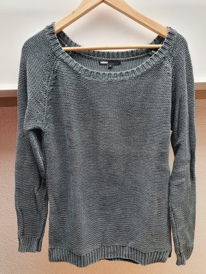Minimum Jersey de punto gris oscuro