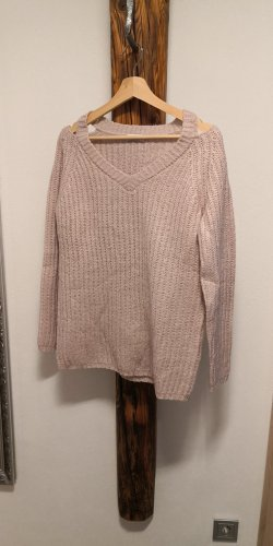 Strickpullover mit Cut-Outs