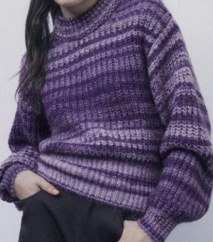 Strickpullover mit Farbverlauf von Zara