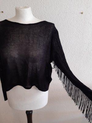 H&M Pull tricoté noir
