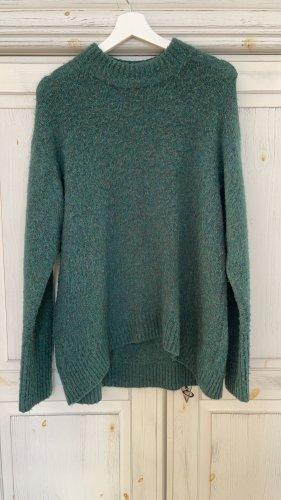 Sissy - Boy Wełniany sweter petrol