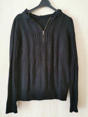Boysen's Maglione lavorato a maglia nero