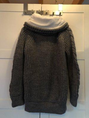 Superdry Maglione oversize grigio-bianco