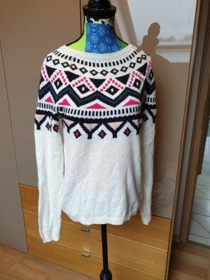 H&M Pull norvégien multicolore