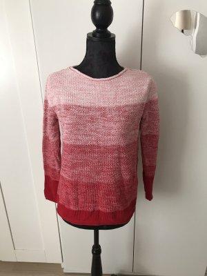 Cecil Maglione lavorato a maglia bianco sporco-rosso