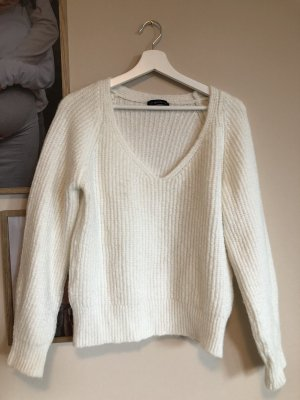 Dilvin Knitted Sweater natural white-white