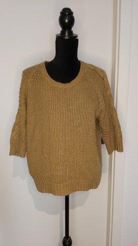 Opus Maglione lavorato a maglia color cammello