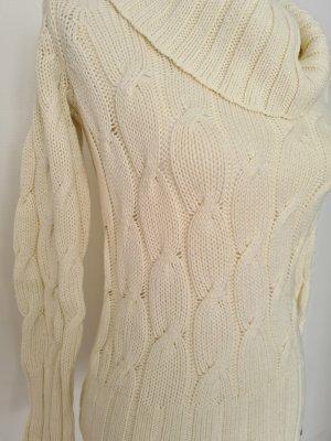 Strickpullover Pullover großer Rollkragen