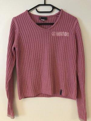 4Wards Jersey de punto grueso rosa-rosa Algodón